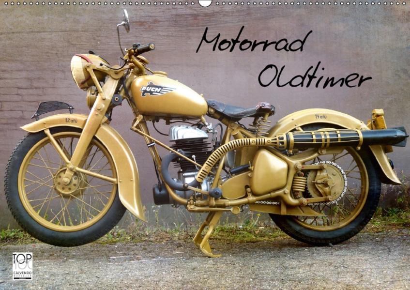 Motorrad Oldtimer (Wandkalender 2017 DIN A2 quer) - Coverbild