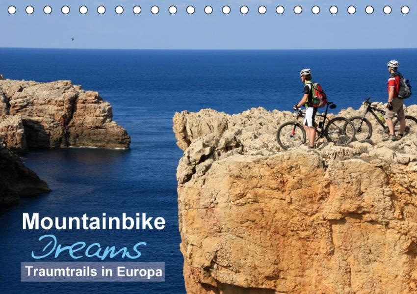 Mountainbike Dreams (Tischkalender 2017 DIN A5 quer) - Coverbild