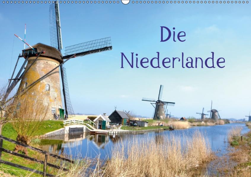 Die Niederlande (Wandkalender 2017 DIN A2 quer) - Coverbild