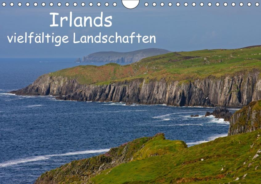 Irlands vielfältige Landschaften (Wandkalender 2017 DIN A4 quer) - Coverbild