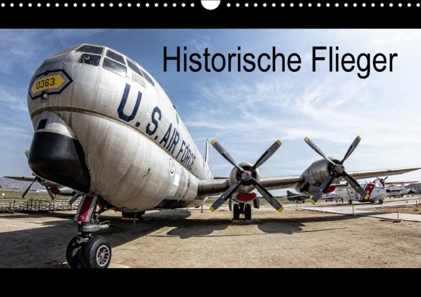 Historische Flieger (Wandkalender 2017 DIN A3 quer) - Coverbild
