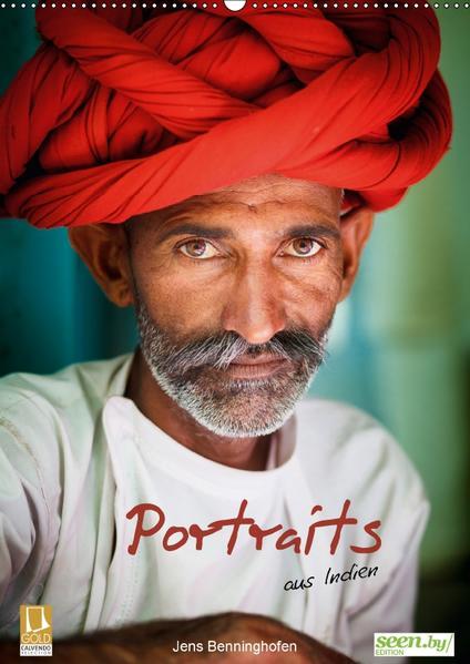 Portraits aus Indien (Wandkalender 2017 DIN A2 hoch) - Coverbild