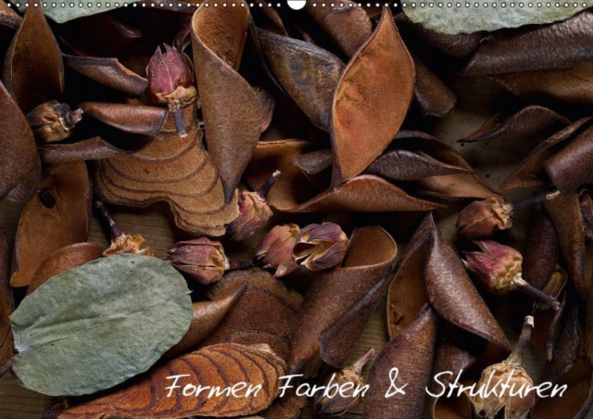 Formen Farben und Strukturen (Wandkalender 2017 DIN A2 quer) - Coverbild