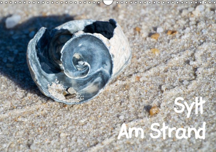 Sylt Am Strand (Wandkalender 2017 DIN A3 quer) - Coverbild