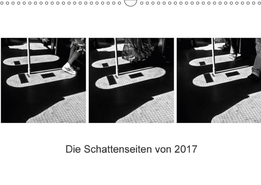 Die Schattenseiten von 2017 (Wandkalender 2017 DIN A3 quer) - Coverbild