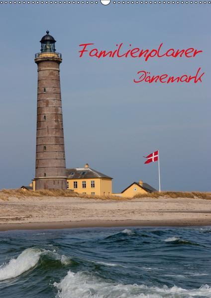 Familienplaner Dänemark (Wandkalender 2017 DIN A2 hoch) - Coverbild