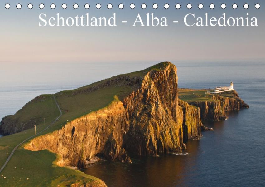 Schottland - Alba - Caledonia (Tischkalender 2017 DIN A5 quer) - Coverbild