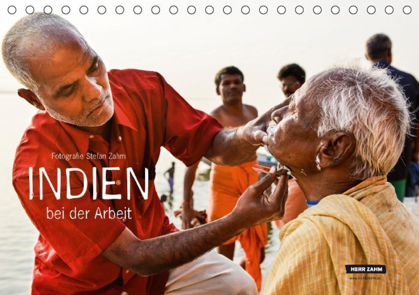 INDIEN bei der Arbeit (Tischkalender 2017 DIN A5 quer) - Coverbild