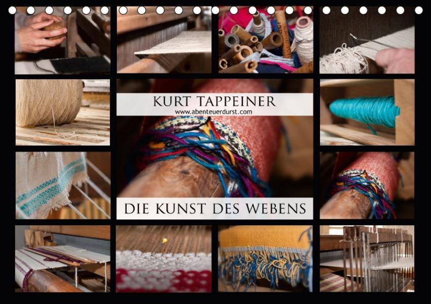 Die Kunst des Webens (Tischkalender 2017 DIN A5 quer) - Coverbild