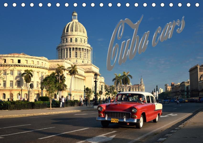 Cuba Cars (Tischkalender 2017 DIN A5 quer) - Coverbild