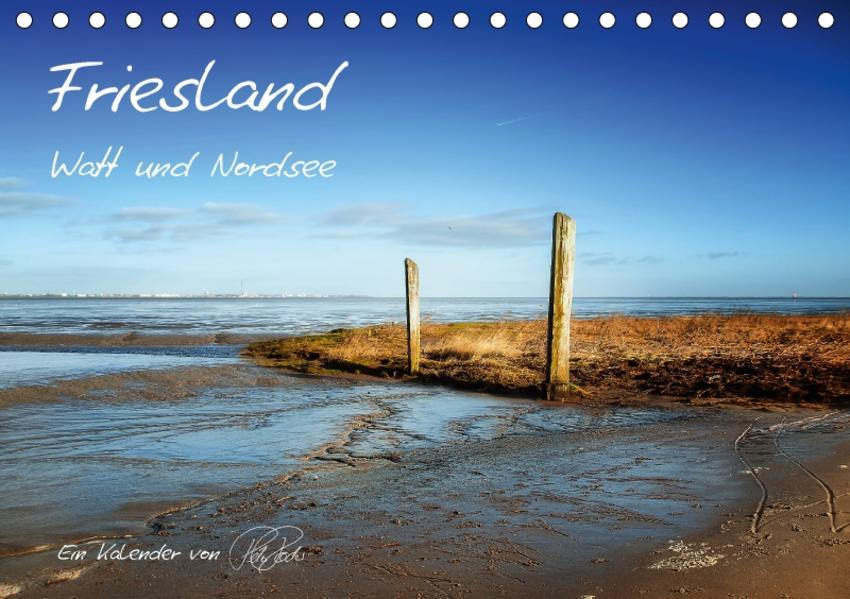 Friesland - Watt und Nordsee (Tischkalender 2017 DIN A5 quer) - Coverbild