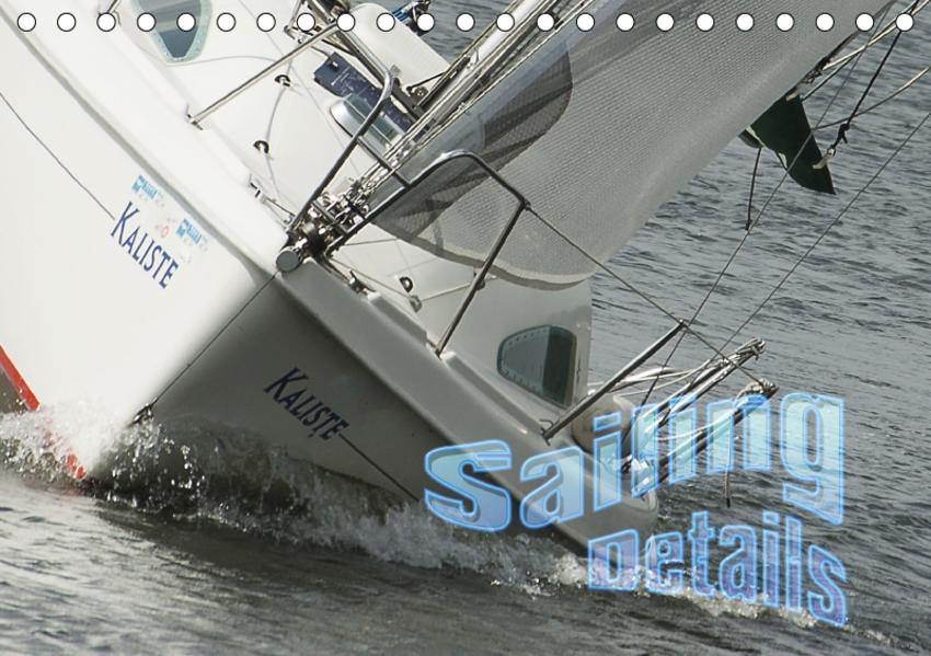 Sailing Details (Tischkalender 2017 DIN A5 quer) - Coverbild
