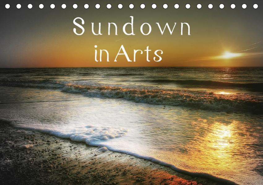 Sundown in Arts (Tischkalender 2017 DIN A5 quer) - Coverbild