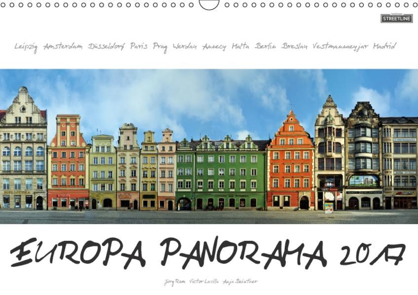 Europa Panorama 2017 (Wandkalender 2017 DIN A3 quer) - Coverbild