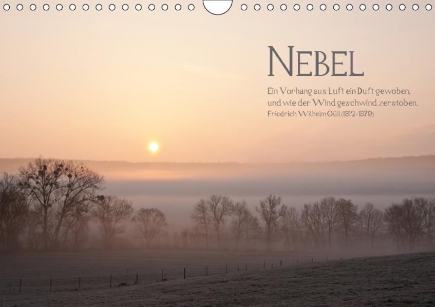 NEBEL (Wandkalender 2017 DIN A4 quer) - Coverbild