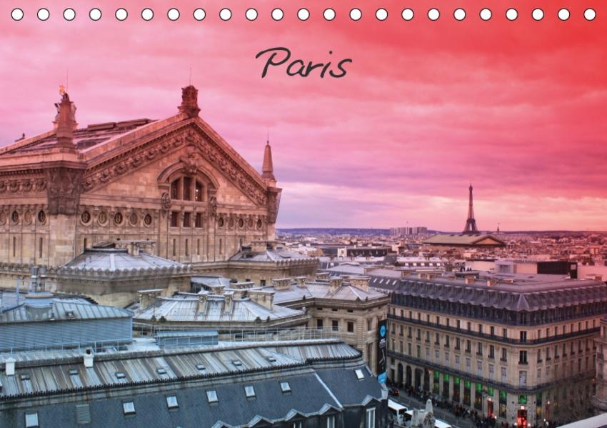 Paris (Tischkalender 2017 DIN A5 quer) - Coverbild