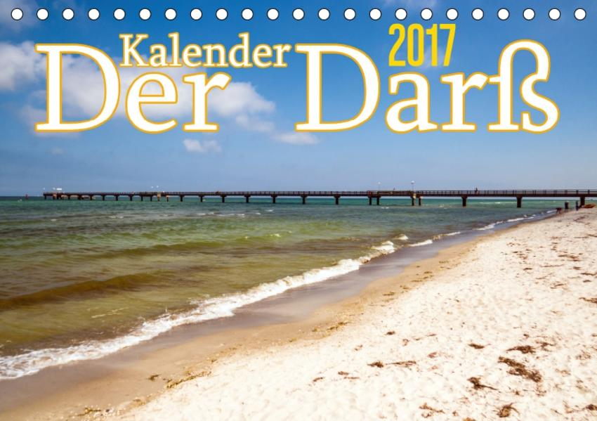 Der Darß Kalender CH-Version (Tischkalender 2017 DIN A5 quer) - Coverbild