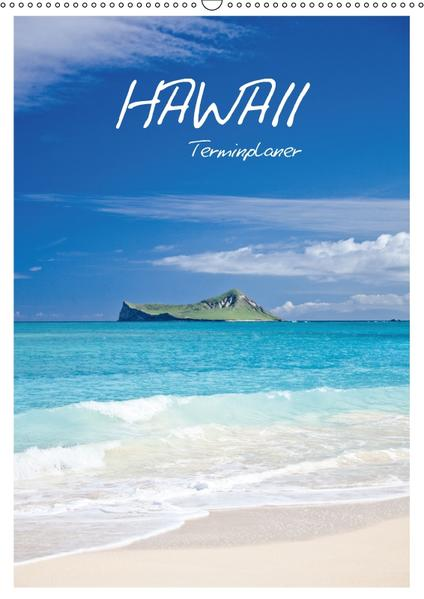 Hawaii - Terminplaner / CH-Version (Wandkalender 2017 DIN A2 hoch) - Coverbild