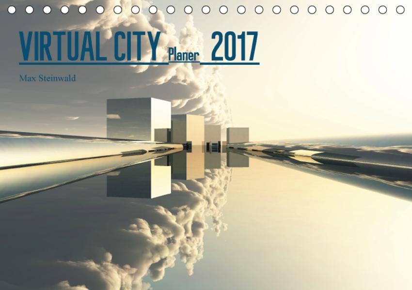 VIRTUAL CITY PLANER 2017 CH-Version (Tischkalender 2017 DIN A5 quer) - Coverbild