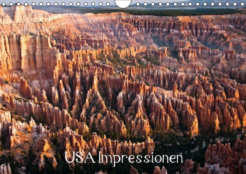USA Impressionen / CH-Version (Wandkalender 2017 DIN A4 quer) - Coverbild
