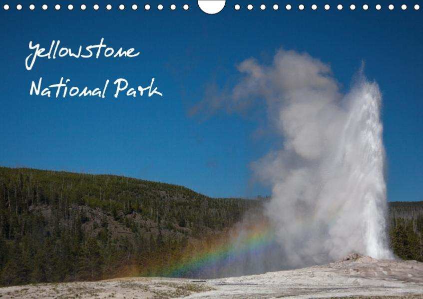 Yellowstone National Park / CH-Version (Wandkalender 2017 DIN A4 quer) - Coverbild