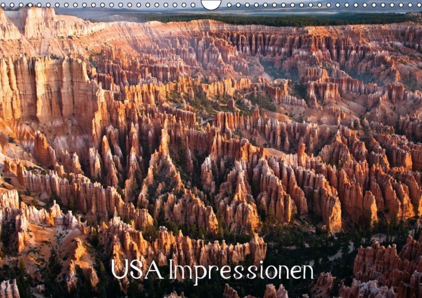 USA Impressionen / CH-Version (Wandkalender 2017 DIN A3 quer) - Coverbild