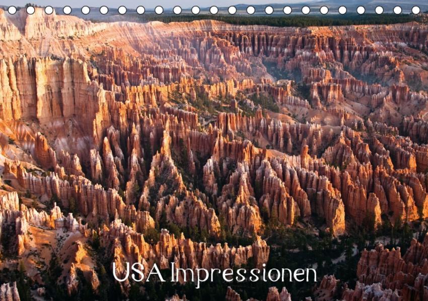 USA Impressionen / CH-Version (Tischkalender 2017 DIN A5 quer) - Coverbild