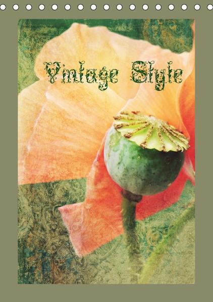 Vintage Style (Tischkalender 2017 DIN A5 hoch) - Coverbild