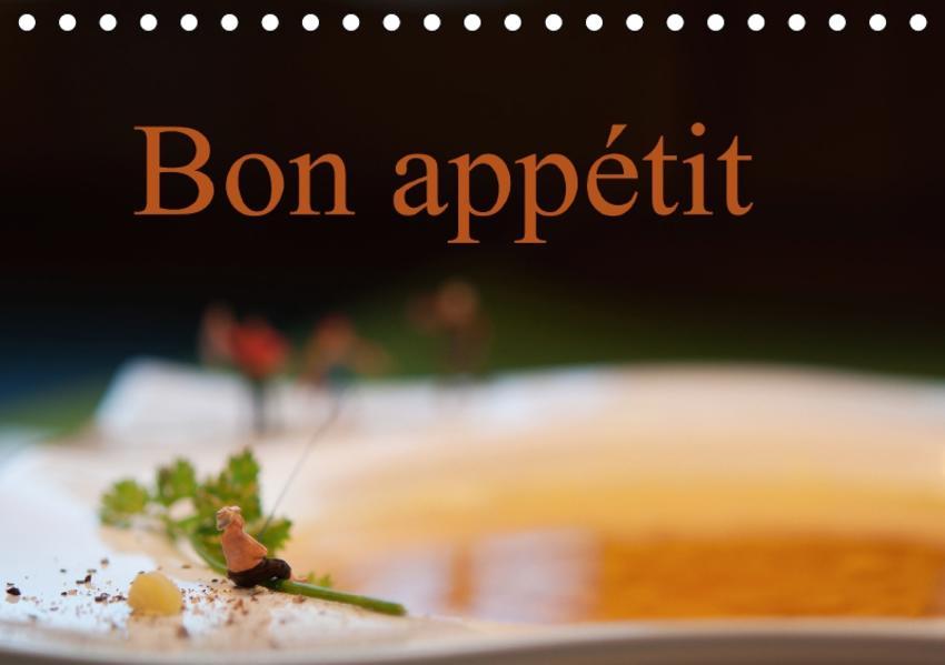 Bon appétit (Tischkalender 2017 DIN A5 quer) - Coverbild