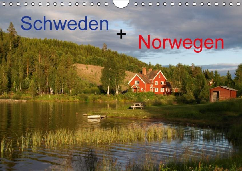 Schweden + Norwegen (Wandkalender 2017 DIN A4 quer) - Coverbild
