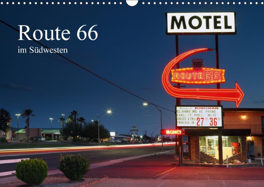 Route 66 im Südwesten (Wandkalender 2017 DIN A3 quer) - Coverbild
