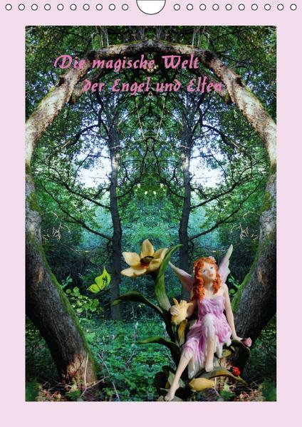 Die magische Welt der Engel und Elfen (Wandkalender 2017 DIN A4 hoch) - Coverbild