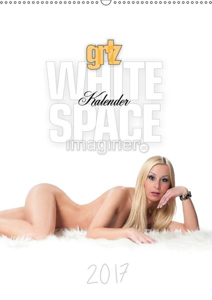 grlz White Space KalenderAT-Version  (Wandkalender 2017 DIN A2 hoch) - Coverbild