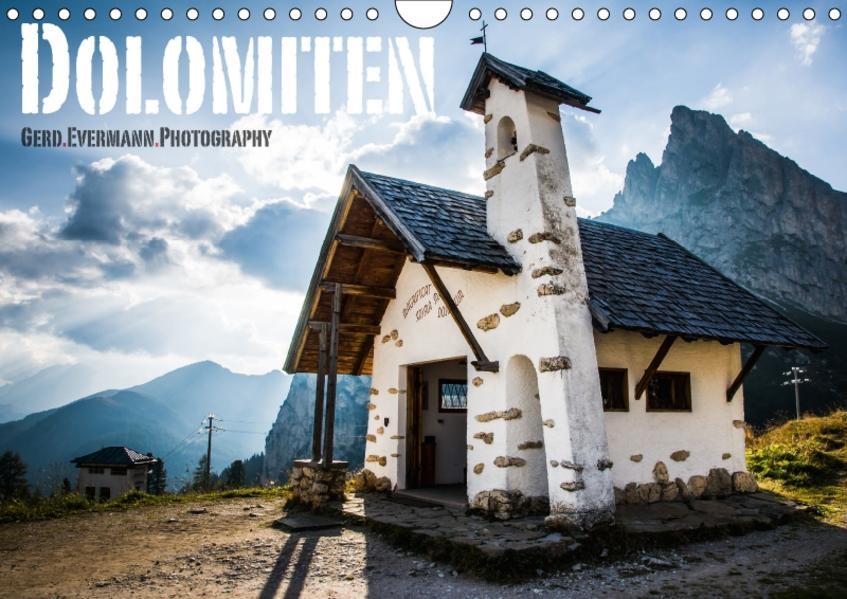 Dolomiten (Wandkalender 2017 DIN A4 quer) - Coverbild
