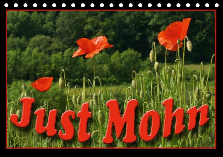 Just Mohn (Tischkalender 2017 DIN A5 quer) - Coverbild