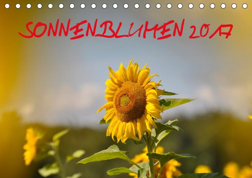 Sonnenblumen 2017 (Tischkalender 2017 DIN A5 quer) - Coverbild
