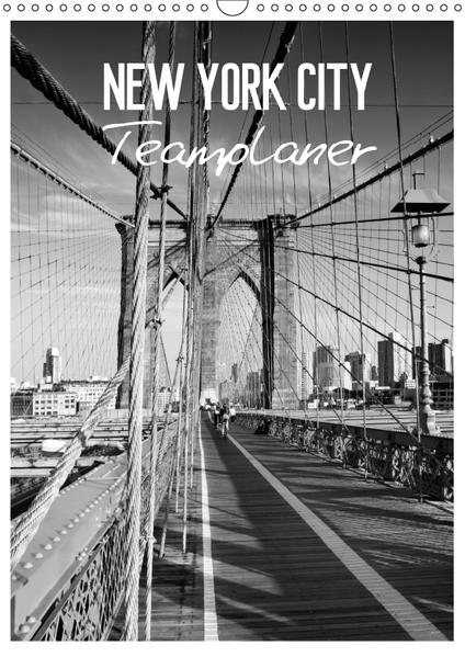 NEW YORK CITY Teamplaner (Wandkalender 2017 DIN A3 hoch) - Coverbild
