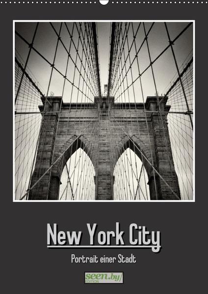 New York City - Portrait einer Stadt (Wandkalender 2017 DIN A2 hoch) - Coverbild