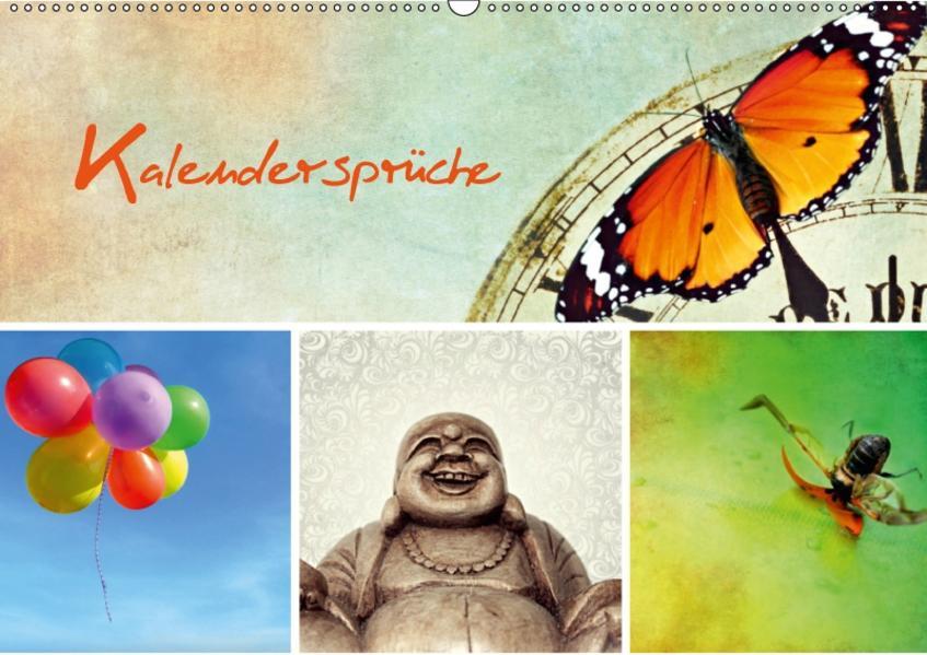 Kalendersprüche (Wandkalender 2017 DIN A2 quer) - Coverbild