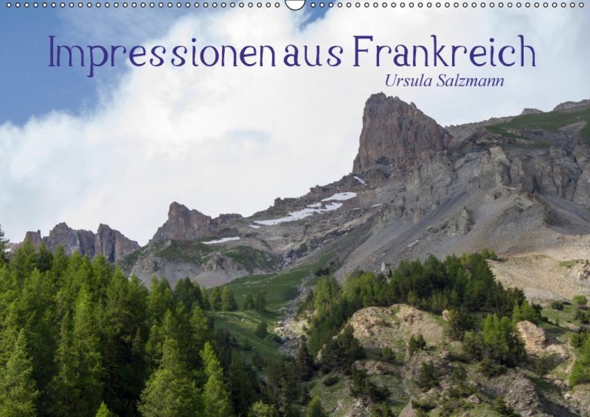 Impressionen aus Frankreich (Wandkalender 2017 DIN A2 quer) - Coverbild