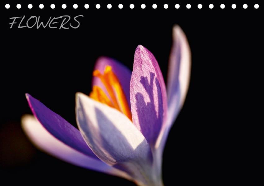 Flowers (CH-Version) (Tischkalender 2017 DIN A5 quer) - Coverbild