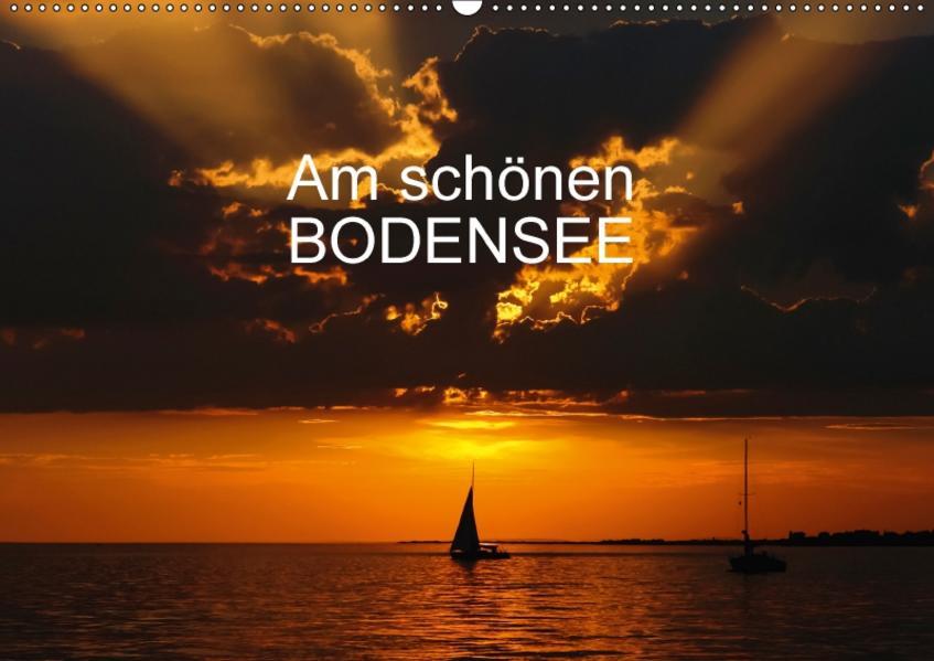 Am schönen Bodensee (CH-Version) (Wandkalender 2017 DIN A2 quer) - Coverbild