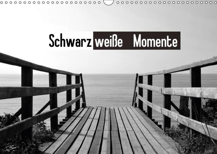 Schwarzweiße Momente (Wandkalender 2017 DIN A3 quer) - Coverbild