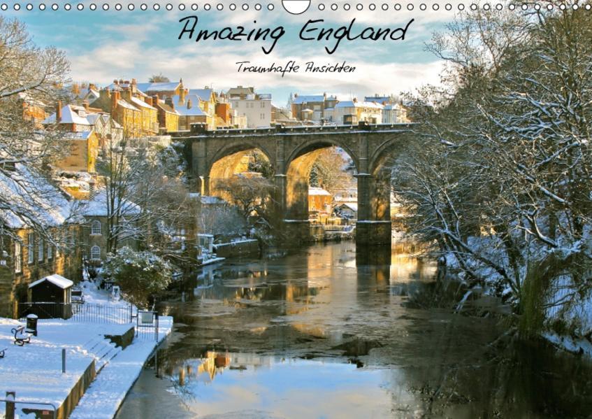 Amazing England - England's schönste Seiten (Wandkalender 2017 DIN A3 quer) - Coverbild