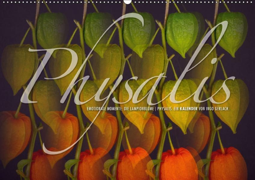Emotionale Momente: Physalis. (Wandkalender 2017 DIN A2 quer) - Coverbild