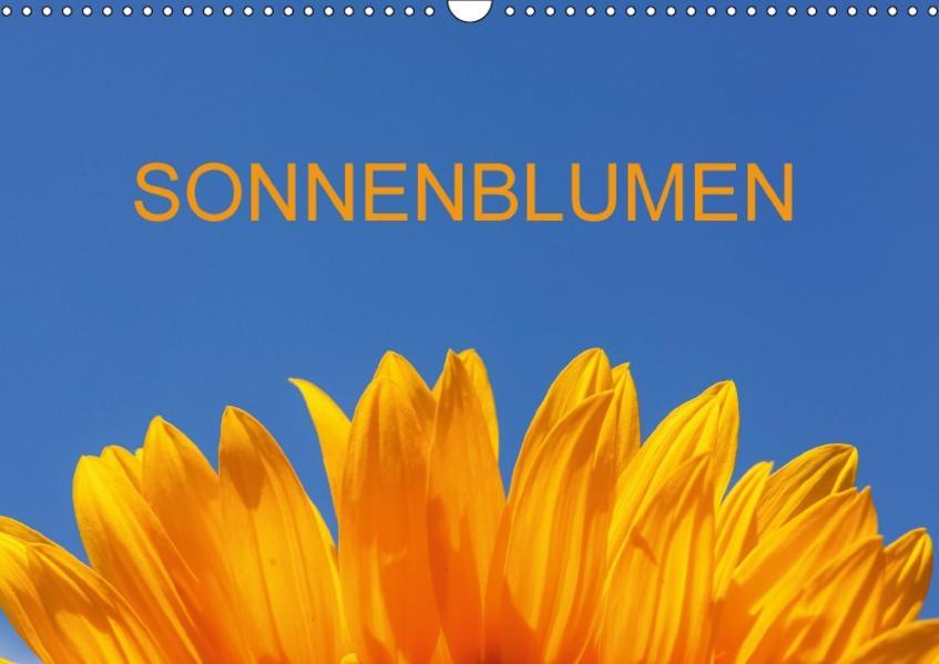 Sonnenblumen (CH-Version) (Wandkalender 2017 DIN A3 quer) - Coverbild