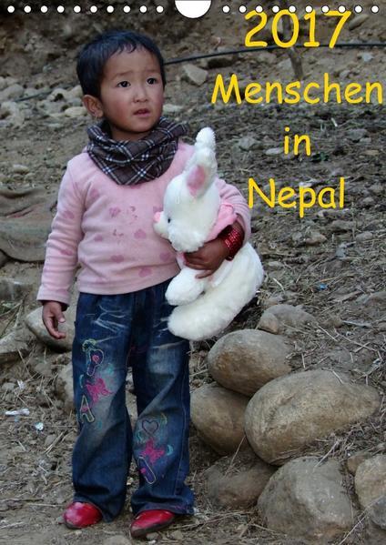 Menschen in NepalAT-Version  (Wandkalender 2017 DIN A4 hoch) - Coverbild