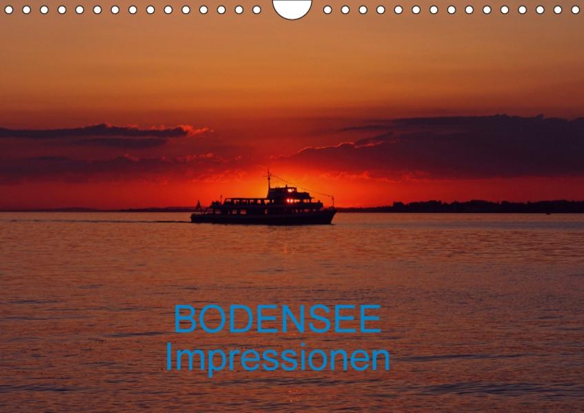 Bodensee Impressionen (CH-Version) (Wandkalender 2017 DIN A4 quer) - Coverbild