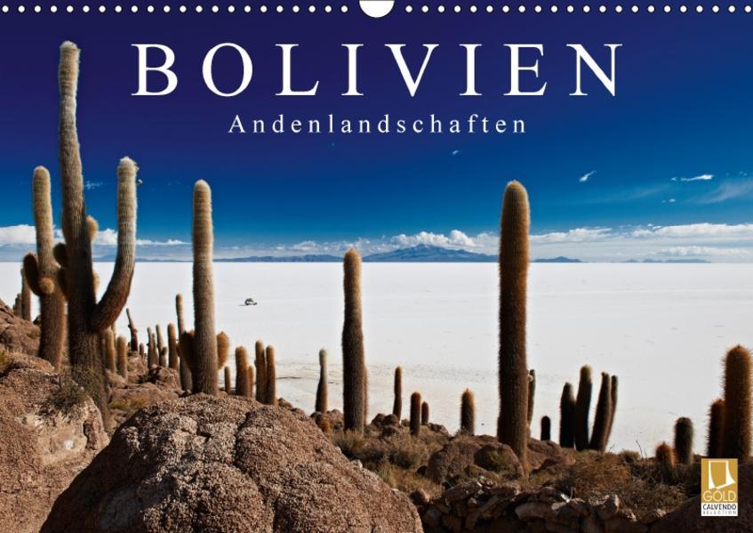 Bolivien Andenlandschaften (Wandkalender 2017 DIN A3 quer) - Coverbild