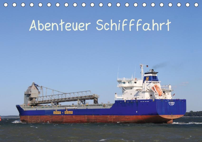 Abenteuer Schifffahrt (Tischkalender 2017 DIN A5 quer) - Coverbild